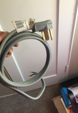 3 prong dryer cord for Sale in Tucson, AZ