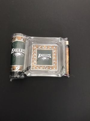 Philadelphia Eagles ashtray set for Sale in Los Angeles, CA