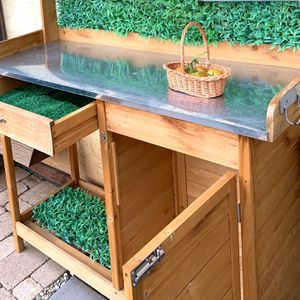 Outdoor Multi-Purpose Cabinet/Gardening Or Food Station for Sale in Jamul, CA