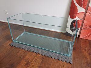 75 gallon custom rimless aquarium featuring low-iron glass for Sale in Lorton, VA