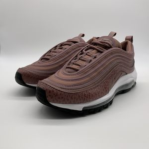 Nike Air Max 97 Leather Purple Smoke Mauve Shoes AQ8760-200 Women's Size 6.5 for Sale in Allen, TX