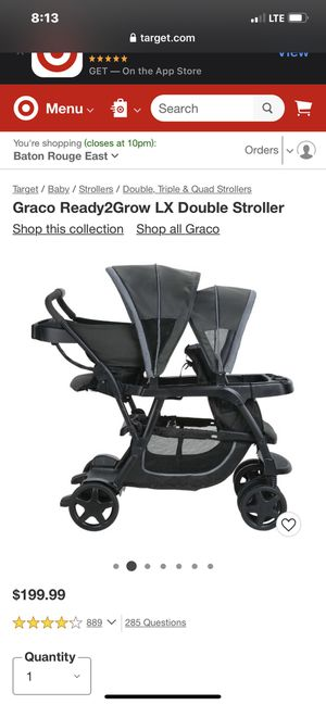 Awesome stroller we loved it , no longer need it , lightly used smoke free and pet free home !! for Sale in Denham Springs, LA