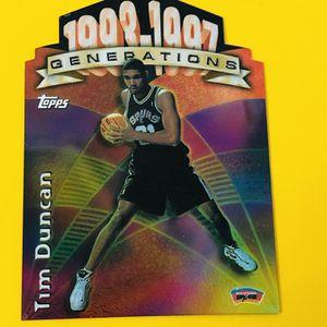 Basketball player Tim Duncan g28 1997 $100 for Sale in Lehigh Acres, FL