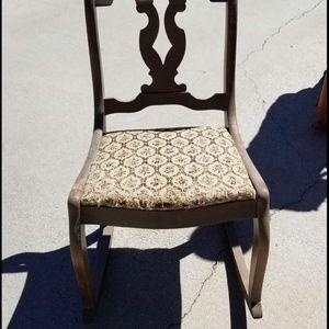 Vintage Rocking Chair for Sale in Santa Clarita, CA