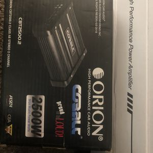 ORION 2,500 Watts Amp for Sale in Tempe, AZ