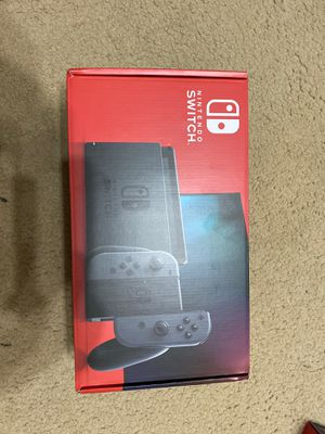 Brand New Nintendo Switch Grey $450 for Sale in Sugar Land, TX