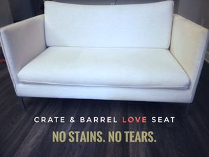 Crate & Barrel Love Seat for Sale in Herndon, VA