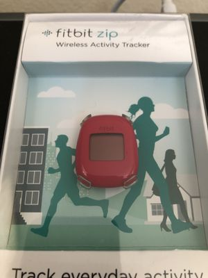 USED - fitbit zip - Wireless Activity Tracker - Magenta for Sale in Carlsbad, CA