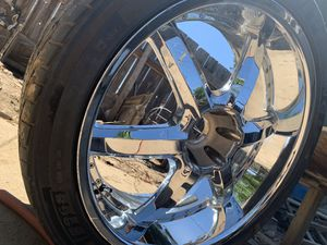 Rims 24 chrome velocity for Sale in Santa Maria, CA