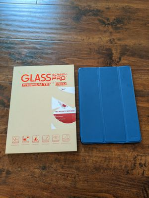 """Apple iPad 5th and 6th generation 9.7"""" tempered glass screen protector New for Sale in Pasadena, CA"""