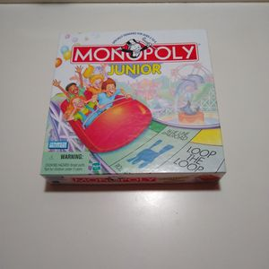Monopoly Junior - Family Board Game For Kids for Sale in Lake Zurich, IL