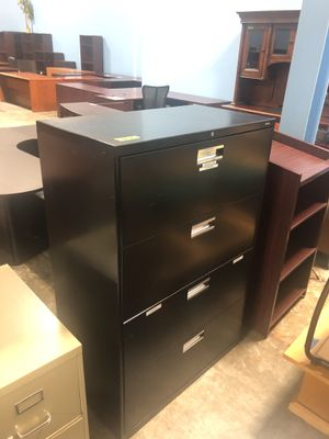 Black lateral file for Sale in Atlanta, GA