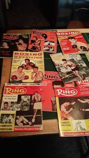 60 and 62 boxing magazine's for Sale in Vancouver, WA
