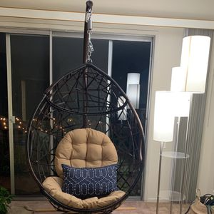 Beautiful Indoor/outdoor Swing With Stand for Sale in Culver City, CA