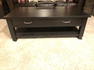 BEAUTIFUL BLACK COFFEE TABLE!!! for Sale in Normandy Park, WA