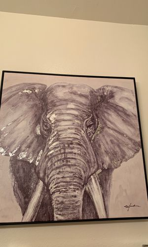 Painting with black frame for Sale in Manassas, VA