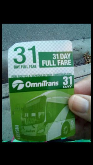 Bus pass for Sale in Upland, CA