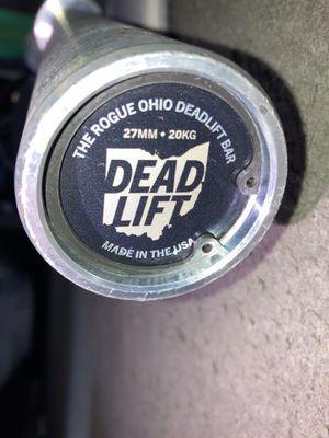 Rogue ohio deadlift bar e coat for Sale in Claremont, CA