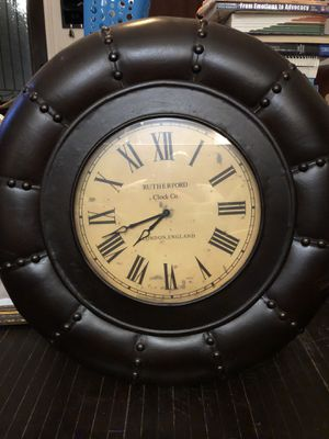 Large wall clock for Sale in Tulsa, OK