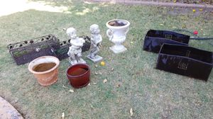 Outdoor decor pots and statues for Sale in Chandler, AZ
