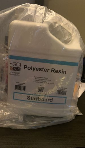 Surfboard Polyester Resin for Sale in Portland, OR
