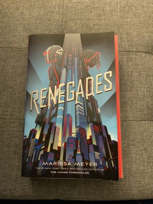 Renegades by Marissa Meyer (paperback) for Sale in Riverview, FL