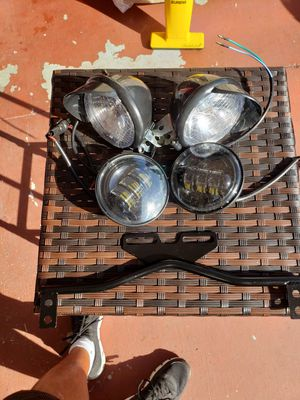 LED MOTORCYCLE SIDE HEADLIGHTS for Sale in Hialeah, FL