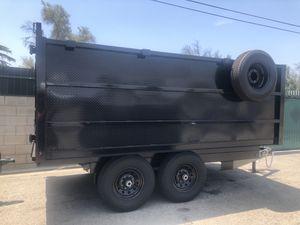 7x12x4 DECK OVER DUMP TRAILER NATM CERTIFIED for Sale in Mesa, AZ
