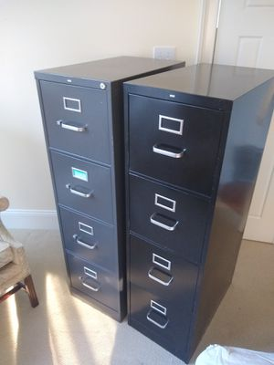 Filing cabinet. Tax time. Get organized for Sale in Eno Valley, NC