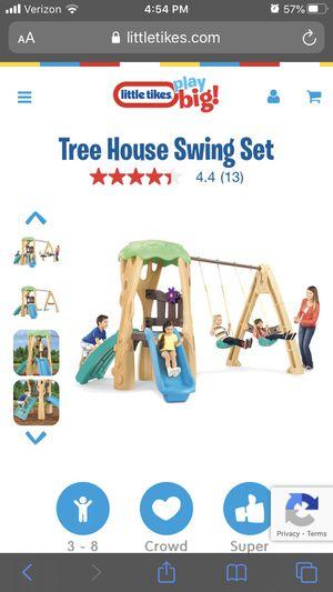 Little Tikes Treehouse Swingset for Sale in Bonney Lake, WA