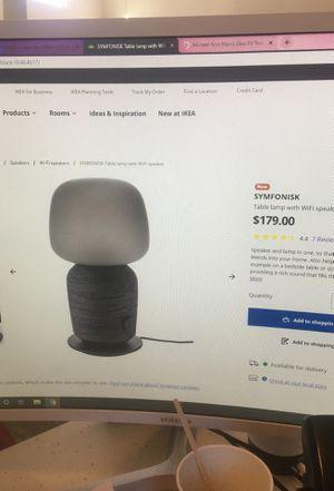 Sonos IKEA Speaker Lamp for Sale in Denver, CO