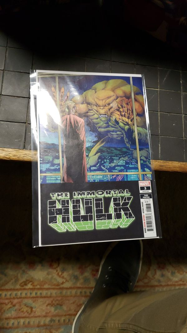 IMMORTAL HULK #3 3RD PTG BROWN VARIANT COVER DR FYRE NEW