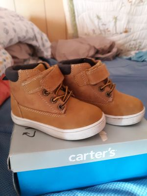 Carters timberland boots size 6c girls or boys for Sale in Schenectady, NY