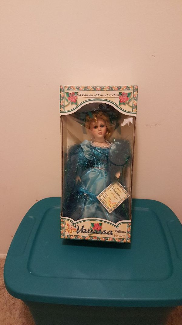 Vanessa Collection Porcelain Doll