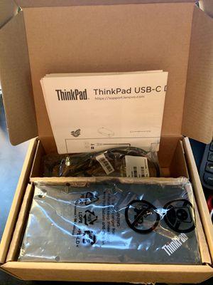 ThinkPad USB-C Docking Station - New for Sale in Phoenix, AZ
