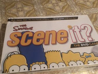 Simpsons Scene It Game for Sale in Providence,  RI