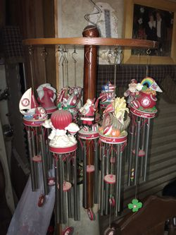 Collectable alabama seasonal wind chimes. for Sale in Plantersville,  AL