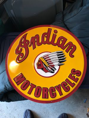 Indian motorcycle sign for Sale in Milford, CT