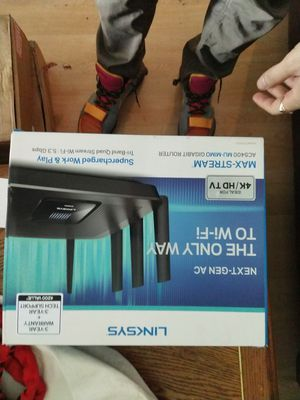 Linksys 4k Router for Sale in North Lauderdale, FL