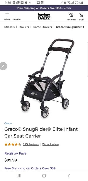 New in box Graco Snugrider Elite Infant Car Seat Frame for Sale in Bakersfield, CA