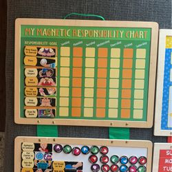 My Magnetic Responsibility Chart Melissa & Doug for Sale in Chula Vista,  CA