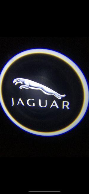 Jaguar car door projector lights shadow lights auto on/off aaa batteries for Sale in Paramount, CA