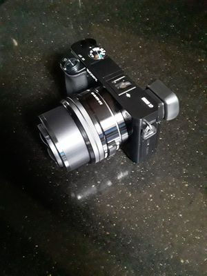 Sony A 6000 interchangeable lens digital camera with extras for Sale in Baltimore, MD