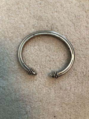 Slane & Slane sterling sliver 925 hinged cuff bracelet for Sale in Morris Plains, NJ