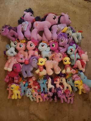 My little pony plushies for Sale in Tacoma, WA
