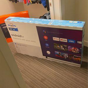 50 inch Phillips 4K Smart TV for Sale in Newport News, VA