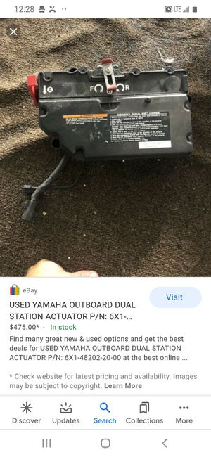 Yamaha outboard dual station actuators for Sale in North Miami Beach, FL
