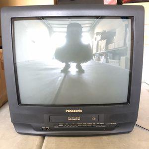 """Panasonic PV-C2023 20"""" Color TV/VCR/FM Combo Retro Gaming No Remote for Sale in Whittier, CA"""