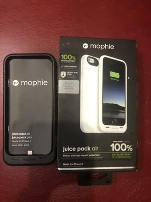 2 mophie chargers for iPhone 📱 6 for Sale in Lakewood Township, NJ