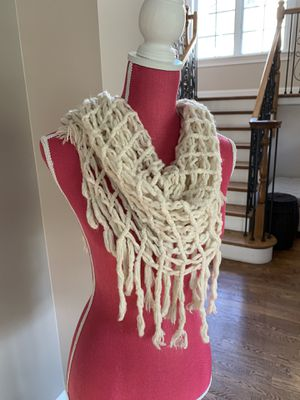 Scarf beige for Sale in Lake Forest, IL